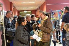 Wystawy prac plastycznych uczestników warsztatów sobotnich